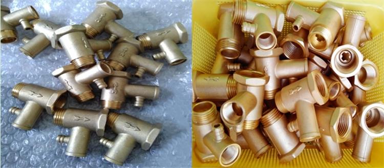 铜材钝化液为铜水龙头做防锈处理过96小时盐雾