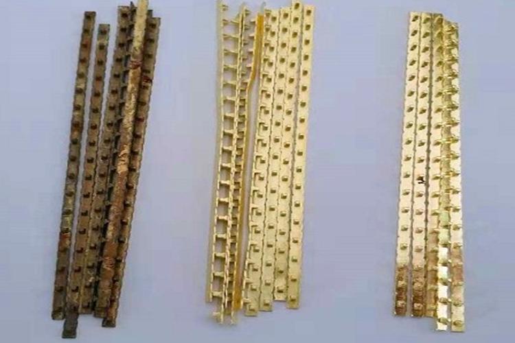 【苏州】黄铜配件用铜材化学抛光液抛光案例